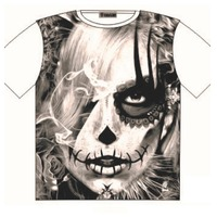 T Shirt dark side Voodoo tattoo Street Fashion Mens Ladies  AU STOCK