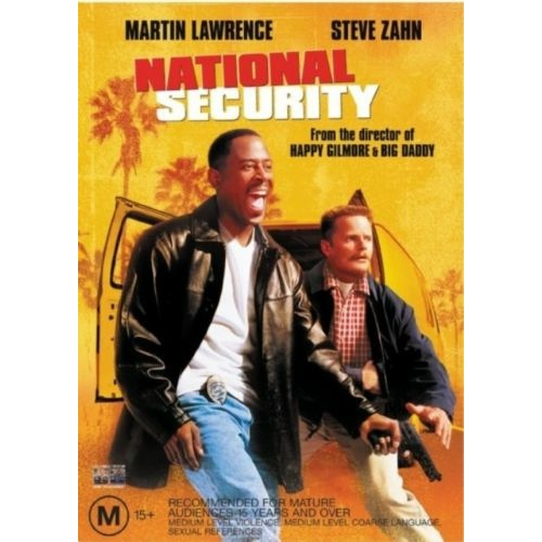 NATIONAL SECURITY Martin Lawrence Steve Zahn DVD R4 PAL