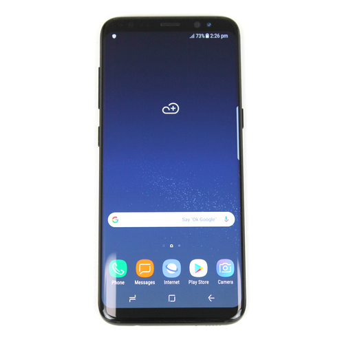 Samsung Galaxy S8 64GB Midnight Black Unlocked AU Stock SM-G950F