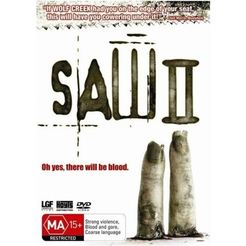 SAW 2 DVD R4 PAL