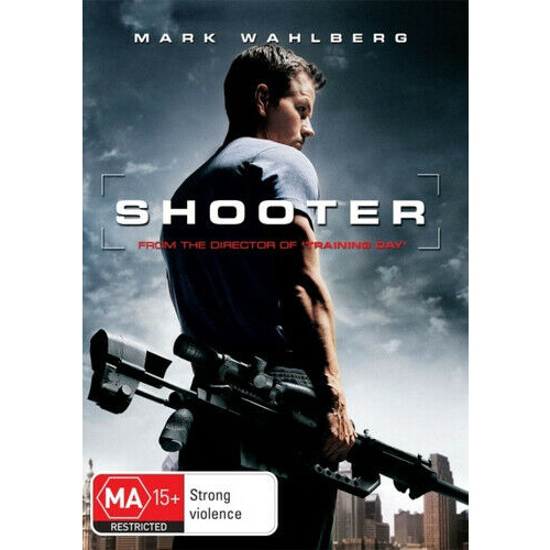 SHOOTER Mark Wahlberg DVD R4 PAL