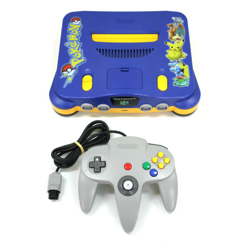 Nintendo 64 Pokemon Special Edition Console with Controller PAL