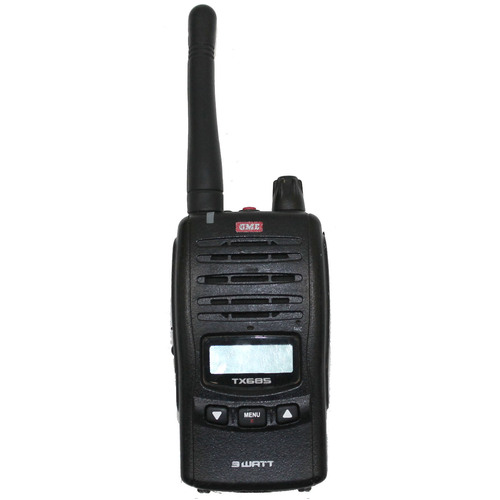 GME TX685 3W IP67 UHF CB Handheld 80-Channel Radio