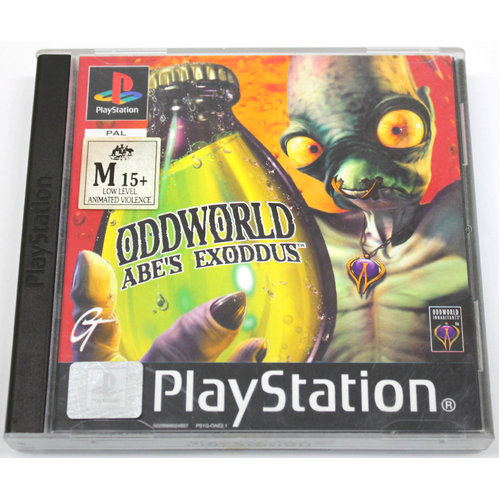 Sony Oddworld: Abe's Exodus Playstation One Game