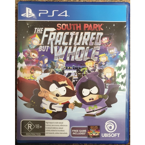 South Park The Fractured But Whole Sony PlayStation 4 Game