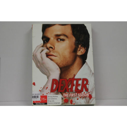DEXTER SEASON ONE 1 Michael C. Hall 4-Disc Set DVD R4 PAL