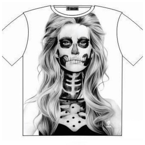 Voodoo tattoo Babe T Shirt Street Fashion Mens Ladies  AU STOCK [colour: Black] [Size: M - 40in/102cm Chest]